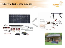 Expandable Solar Power Kit