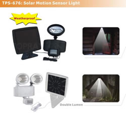 Solar Motion Light, Solar Security Light